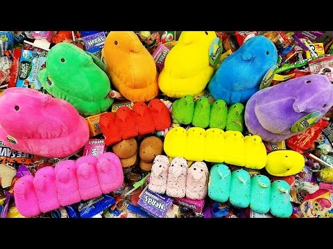 A lot of Candy LEARN COLORS & Nursery Rhymes Five Little Ducks