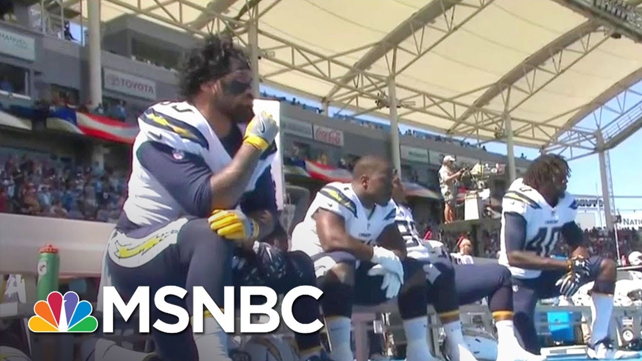 President Donald Trump Escalates War With NFL Over National Anthem Protests | MTP Daily | MSNBC thumbnail