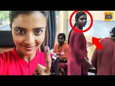 LIVE VIDEO:  Aishwarya Rajesh in Polling Booth | Lok Sabha Elections 2019