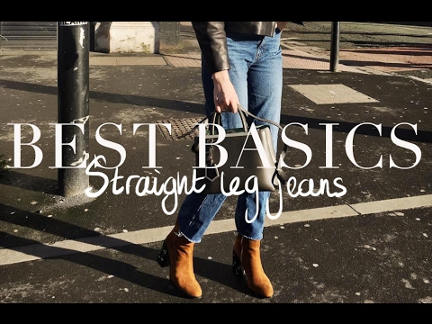 Testing Basics | Straight Leg Jeans
