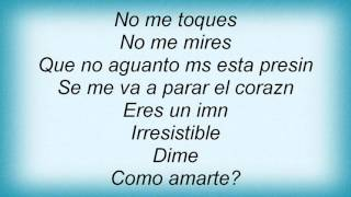 Luis Fonsi - Irresistible Lyrics