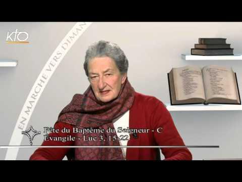 Fête du Baptême du Seigneur C - Evangile