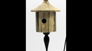 Woodturning A Birdhouse Ornament