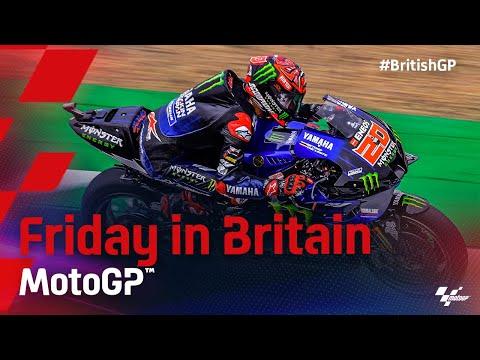 MotoGP 2021 第12戦イギリス 金曜日に行われたFPハイライト動画