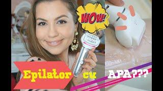 Epilator cu APA ??? - Test review Panasonic es-el9a   Mademoiselle Lorraine