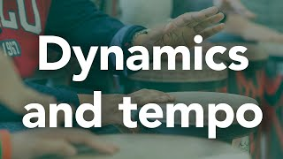 Elements Of Music: Dynamics And Tempo - I Can Drum At Home