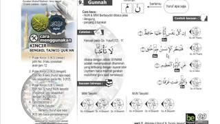 RAHASIA TAJWID #9 GUNNAH   Bengkel TAJWID Ladulla Albugisi   SERI 2