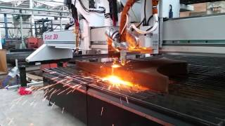 Установки для автоматической резки металлов от компании Группа Компаний КабельСнабСервис - видео