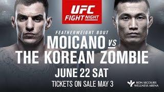 EA Sports UFC 3 Ренато Мойкано - Чон Чхан Сон