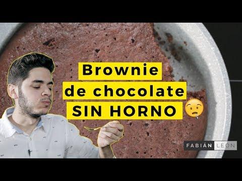 Cómo Preparar Un Brownie De Avena y Chocolate a La Sartén