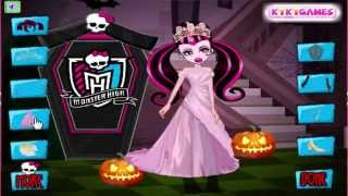 FROZEN MAFA PRINCESS GAMES Draculaura Halloween FREE KIDS GAMES