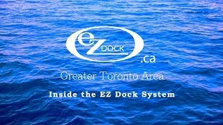 "Inside the EZ Dock System: The 80"" Dock Section in-water"