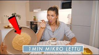 MITÄ KAIKKEA VOI VALMISTAA MIKROSSA 2 - Lettu, juustokakku ...