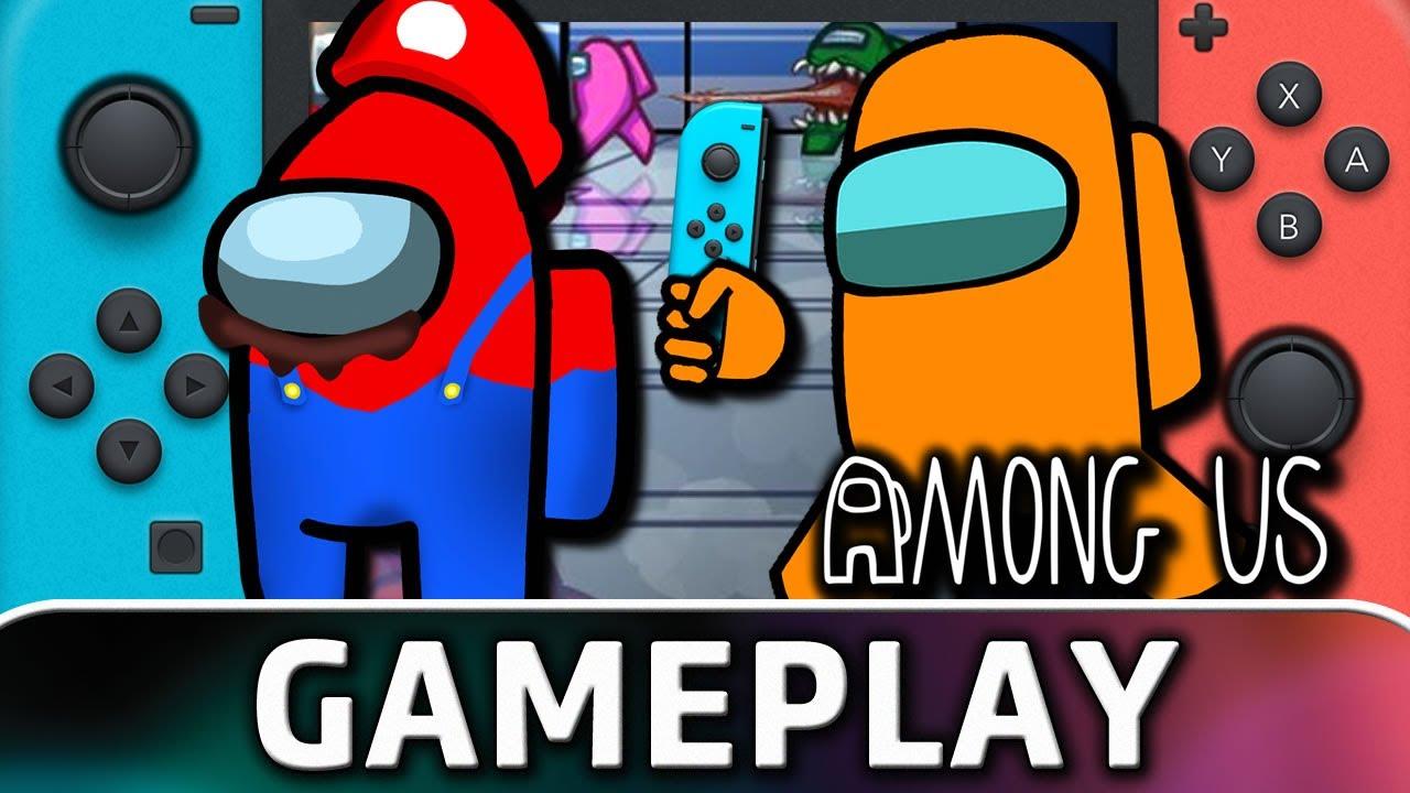 Among Us   Nintendo Switch Gameplay