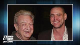 Jim Carrey Reveals One Of The Last Jokes He Told Rodney Dangerfield