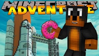 Minecraft - Donut The Dog Adventures - GOING TO SPACE!