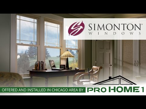Pro Home 1 is proud to offer Simonton Windows as part of our window replacement product line.  We only carry the best brands in the industry.