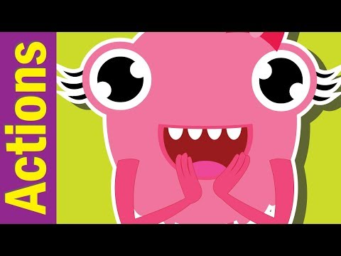 Clap Your Hands Song | Action Verbs Song for Children