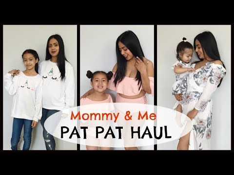 Mommy & Me Outfits! Pat Pat Try On Haul