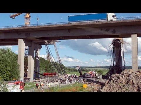 Γερμανία: Νεκροί και τραυματίες από κατάρρευση υπό κατασκευήν γέφυρας