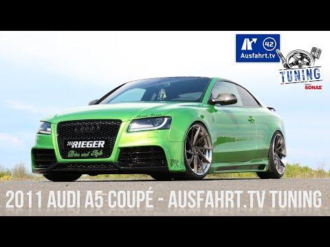 Ausfahrt.TV Tuning - Rieger Audi A5