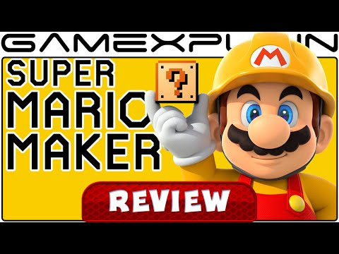Super Mario Maker - Video Review (Wii U) - YouTube video thumbnail