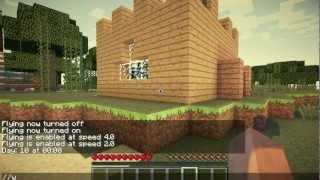Minecraft KINO MIT TRICKFILM GER Tutorial Most Popular Videos - Minecraft mittelalter haus command
