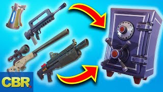 This Is Why Fortnite Vaulted Those Weapons For Season 8