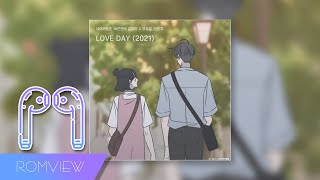 🎧[3D SOUND Ver.] 양요섭, 정은지 - LOVE DAY (2021) (바른연애 길잡이 X 양요섭, 정은지)