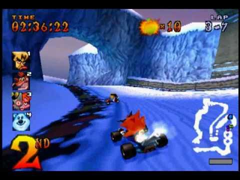crash team racing playstation rom