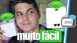Como configurar um ROTEADOR COMO Repetidor Wireless wifi - CanalJMS