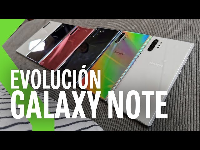 El GRAN CAMBIO de los nuevos Galaxy Note 10 y cómo encajan en la gama alta de 2019
