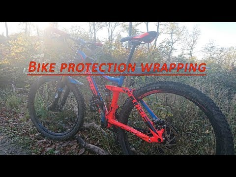 Bike protection wrapping, MTB folieren