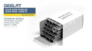 STCR-5019 Staples 5000 Pins--5019-14