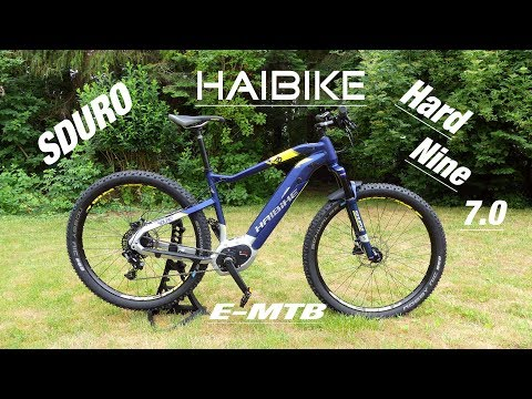 HAIBIKE SDURO HARD NINE 7.0 / E-MTB Vorstellung, Bosch CX
