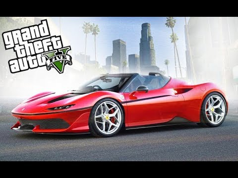 SURPRISING TRACY WITH 2017 FERRARI J50! - GTA 5 Real Life Cars Mod