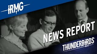 Thunderbirds   News Report - ITV News on Sylvia Anderson's Death