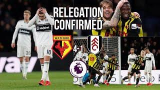 RELEGATED: Watford 4-1 Fulham- Championship Next Season