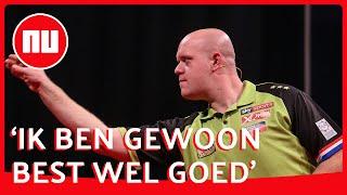 Van Gerwen: 'Ik ben zelf mijn grootste tegenstander' | NU.nl