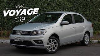Volkswagen Voyage 2019 | Detalhes e 1º contato