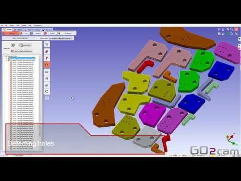 GO2cam V6.05 // Nesting