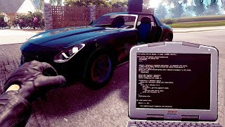 Hacking to Steal the Supercar - Thief Simulator
