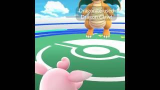 Wigglytuff  - (Pokémon) - Pokémon GO - Wigglytuff vs high-CP Dragonite