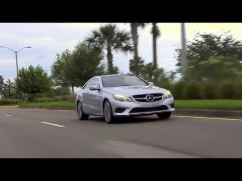 2014 E-Class Coupe -- Mercedes-Benz Two-Door Models