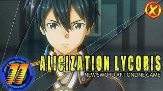 Мастер Меча Онлайн ???? Sword Art Online: Alicization Lycoris ???? СТРИМ #11