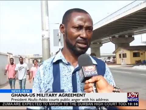 Ghanaians Share Views On President's Speech - News Desk on Joy News (6-4-18)