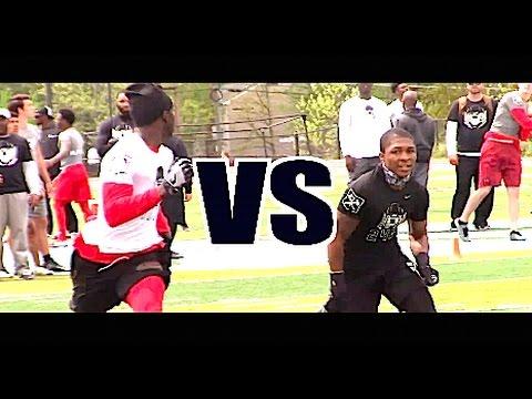 🔥🔥  WRs vs DBs - 1v1s - Nike Football Opening Regionals | DC |  2017