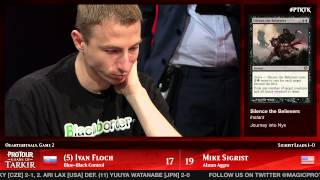 Pro Tour Khans of Tarkir Quarterfinals (Standard): Ivan Floch vs. Mike Sigrist