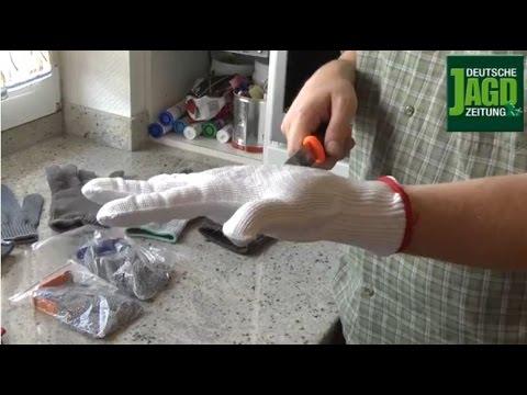 DJZ-TV: Schnittschutzhandschuh-Test