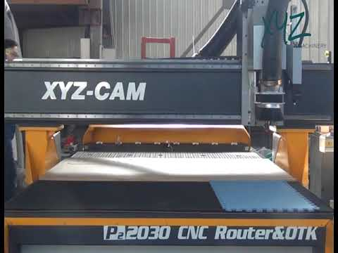 XYZCAM, P2HP ATC, CNC Routing+ Knife Cutting(OTK)